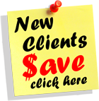 New Clients Save!